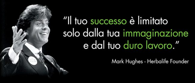 Mark Hughes - Il fondatore di Herbalife