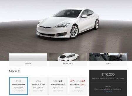 Tesla Model 3 Prezzo Base