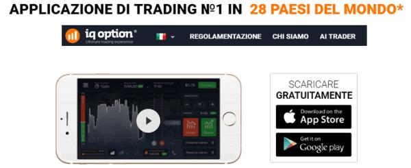 iqoption piattaforma mobile