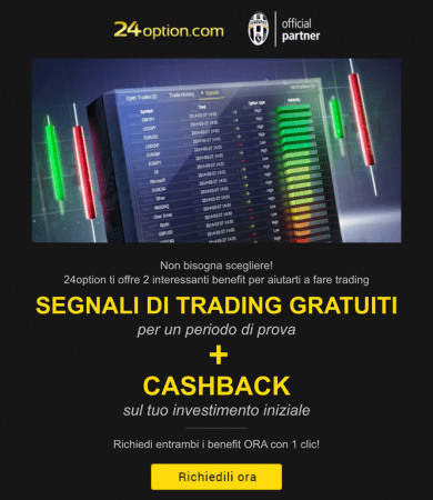 24option Segnali Cashback