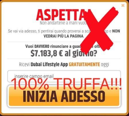 dubai lifestyle app 7000 euro al giorno