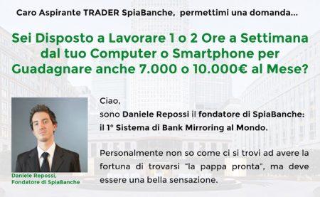 SpiaBanche daniele repossi banks mirroring