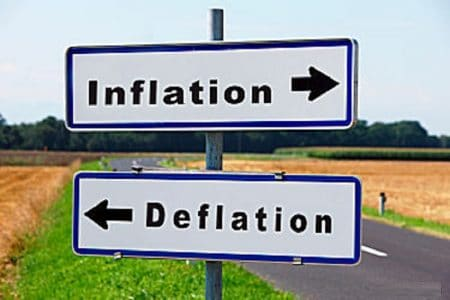 Inflazione: anno chiuso in negativo per la prima volta dal 1959