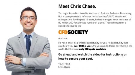 Chris Chase CFD Society
