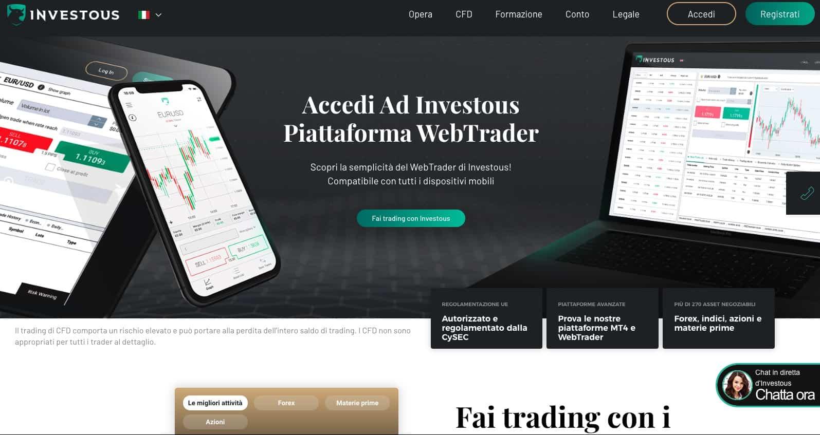 Investous Broker Forex