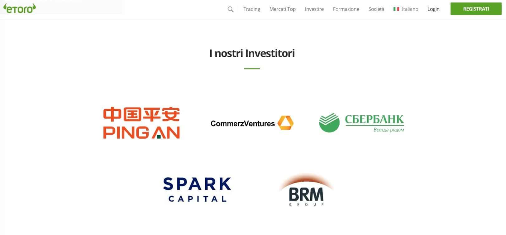 eToro Investitori