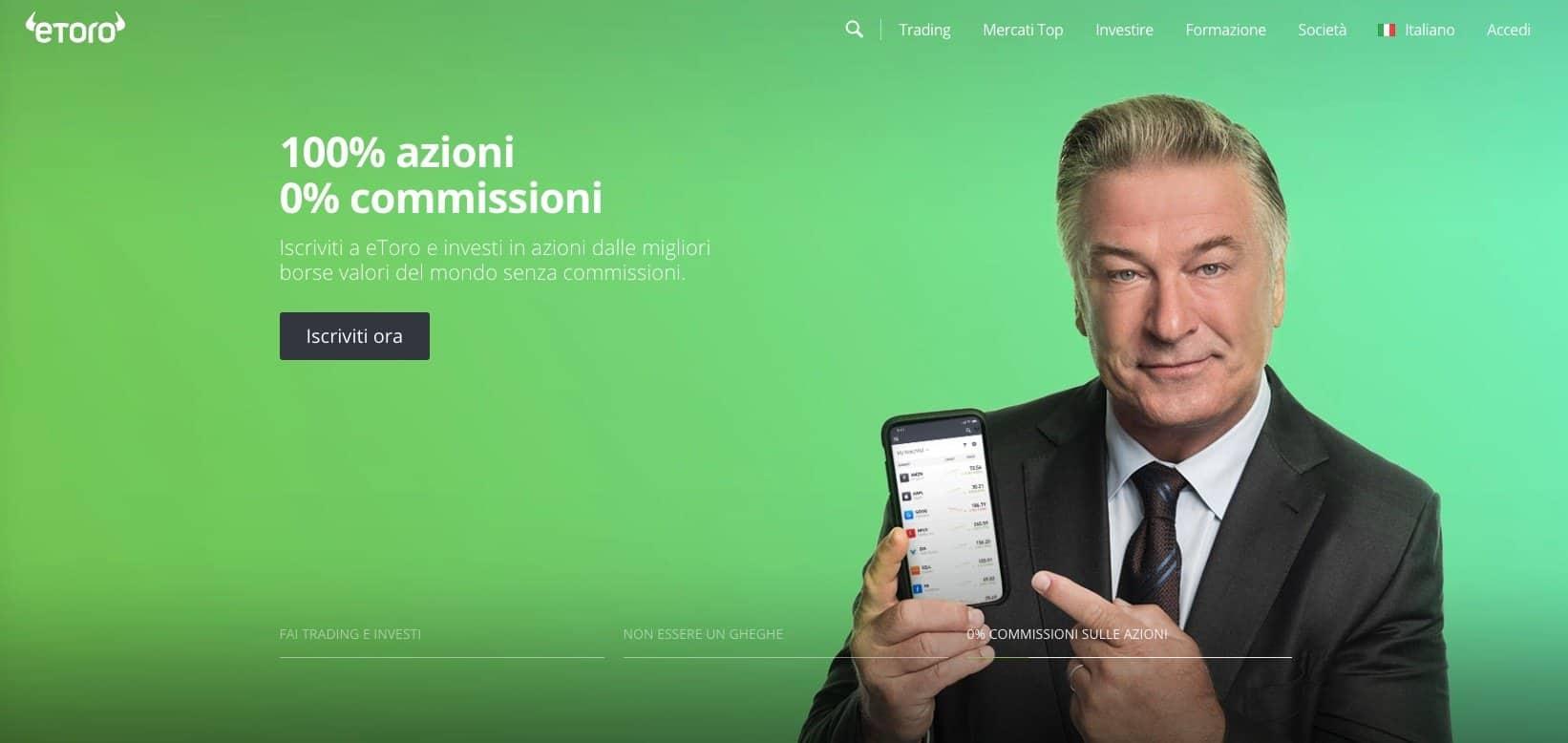 eToro com Homepage