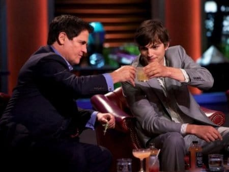Ashton Kutcher Mark Cuban Shark Tank