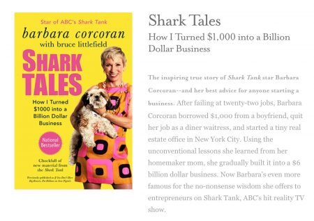 Barbara Corcoran Shark Tank, Libri, Bill Higgins