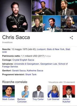 Chris Sacca Informazioni