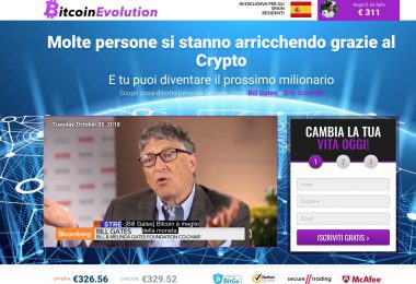 Bitcoin Evolution Truffa? Pareri e Commenti Robot Trading [2018]