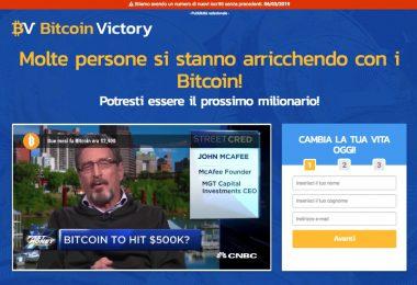 Bitcoin Victory truffa o funziona? Recensioni e opinioni