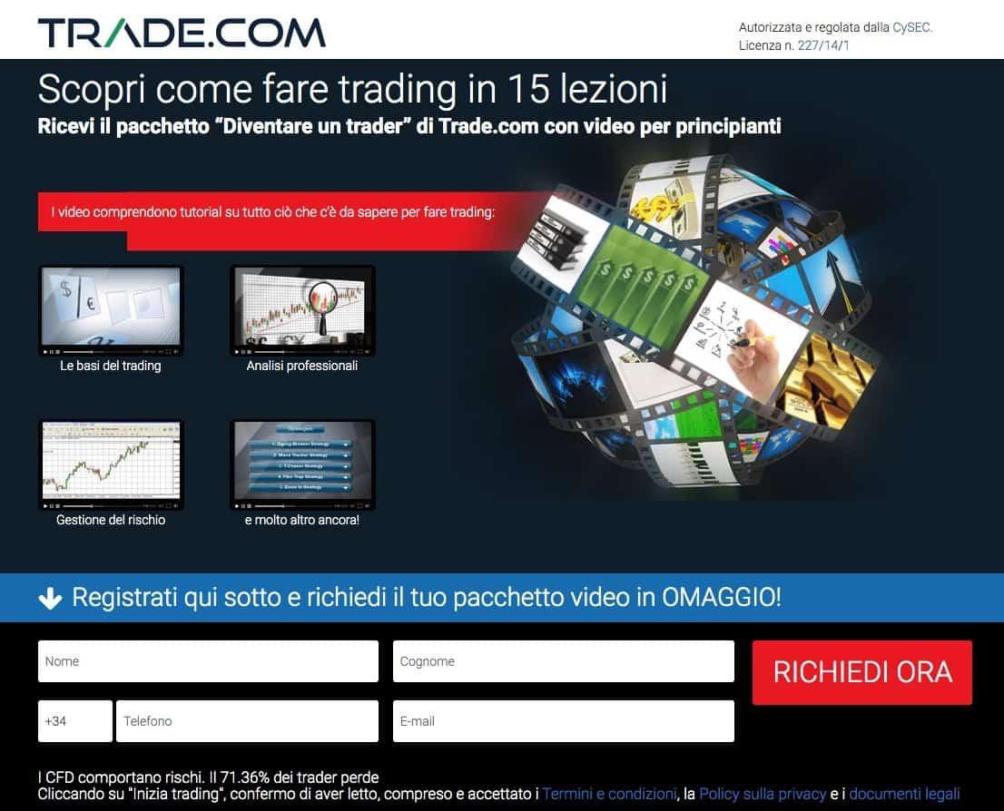 Corso Trading Online Trade.com