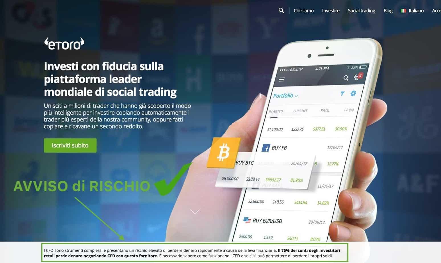 eToro Sito Trading Affidabile
