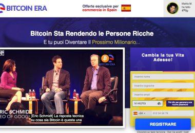 Bitcoin Era Truffa Opinioni Recensioni
