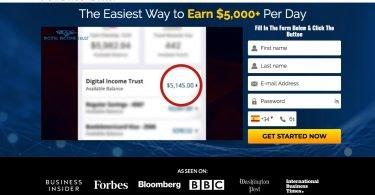 Digital Income Trust Opinioni e Recensioni Funziona