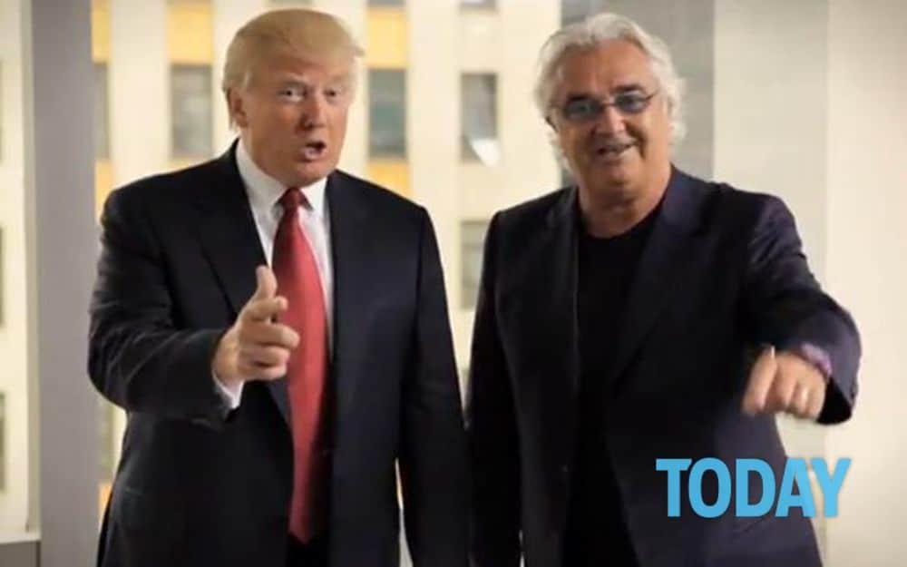 Flavio Briatore Donald Trump