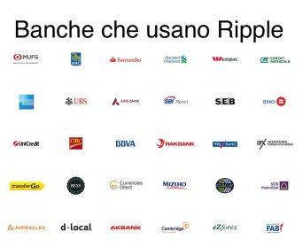 Banche che utilizzano la tecnologia di Ripple