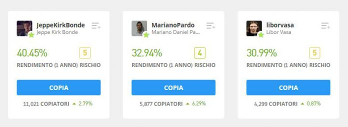 Top Traders eToro - 2020