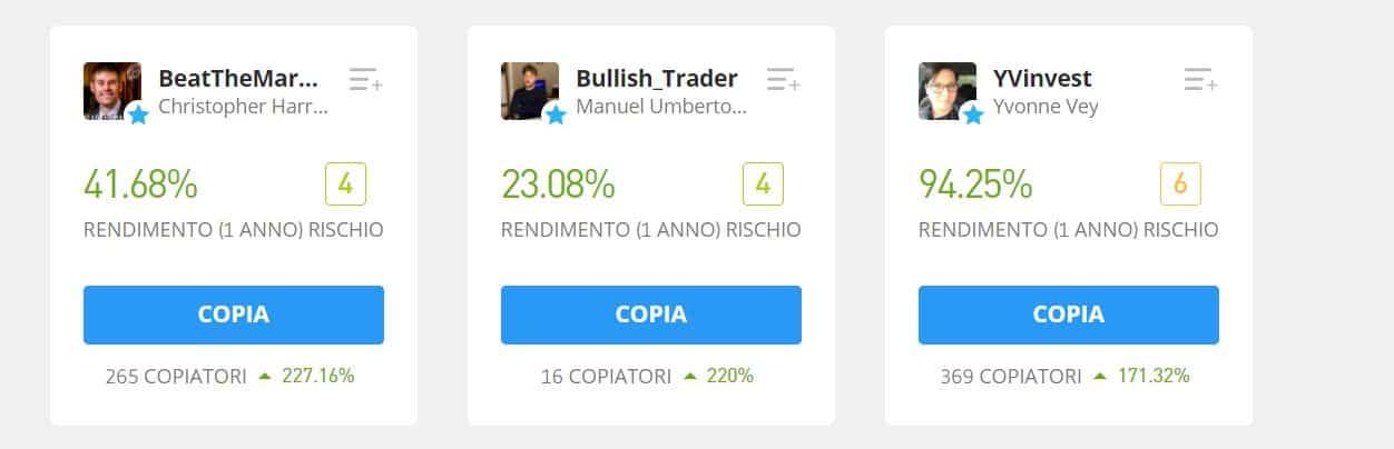 Top Trader eToro