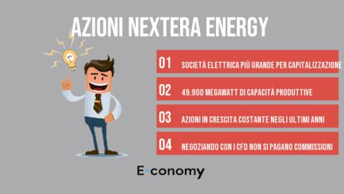 comprare azioni nextera energy