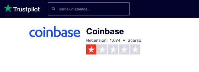 coinbase trustpilot