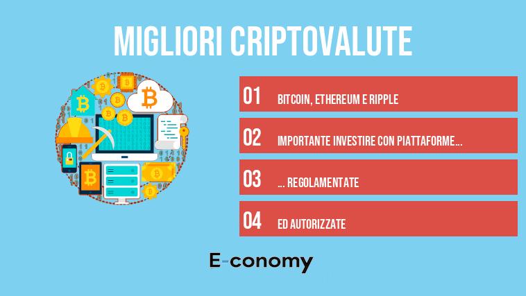 Le 5 migliori criptovalute su cui investire in Primavera 21 | Trend Online